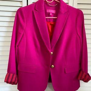 LIMITED EDITION Talbots hot pink blazer